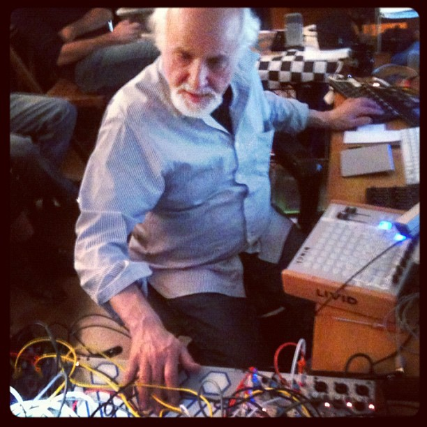 Subotnick at the controls