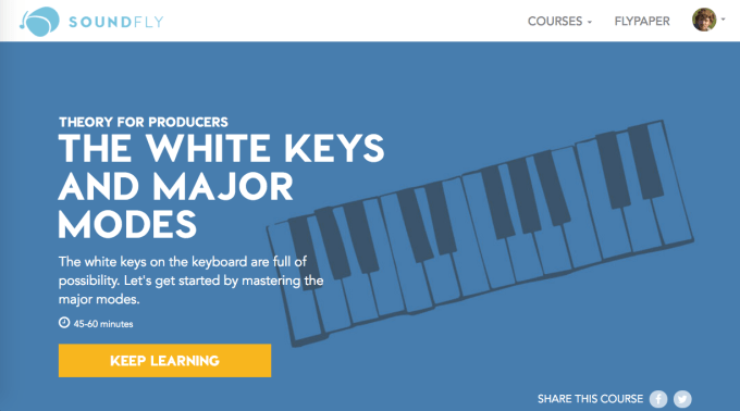 Theory for Producers: the White Keys