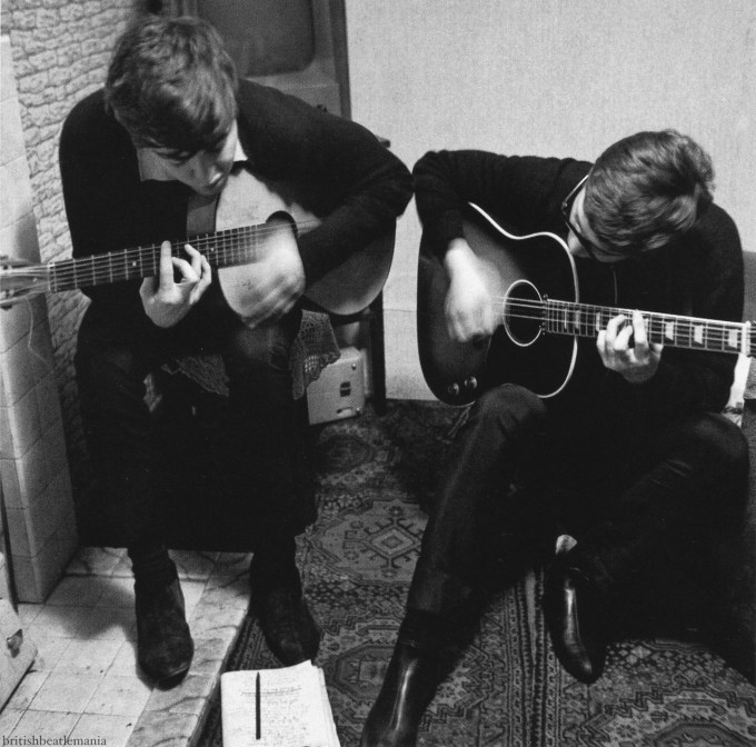 Lennon and McCartney writing