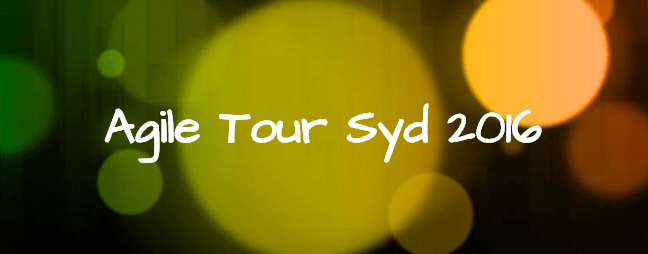 Agile Tour Sydney 2016 – call for facilitators