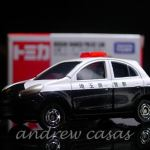 Tomica 017 Nissan March Police Car Toy Car Die Cast And Hot Wheels Tomica 2012 From Sort It Apps