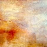 J.M.W. Turner - Coucher de soleil sur un lac (vers 1840 - inachevé)