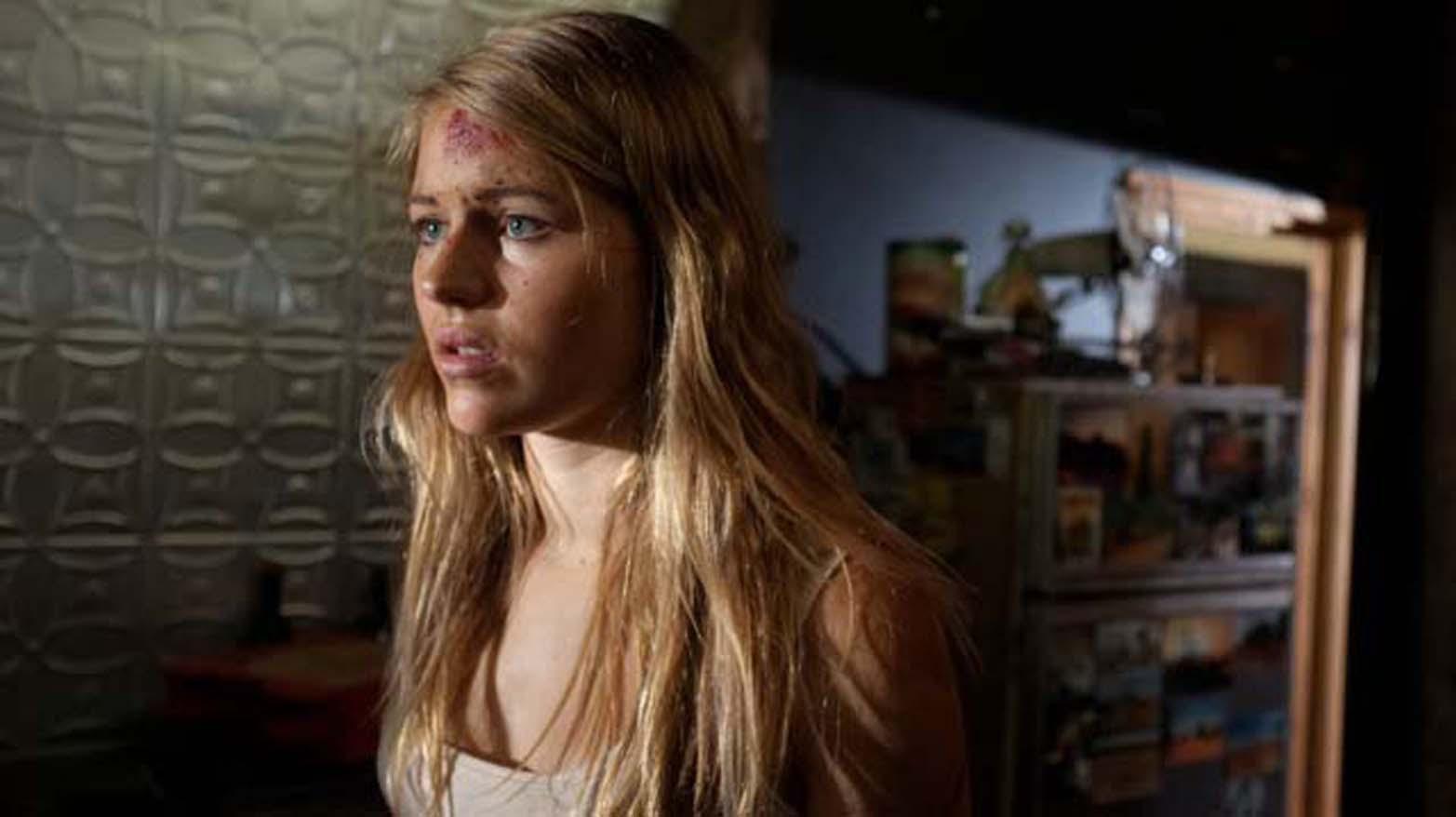"Sarah Jeavons as ""Sam"" in INNER DEMON"