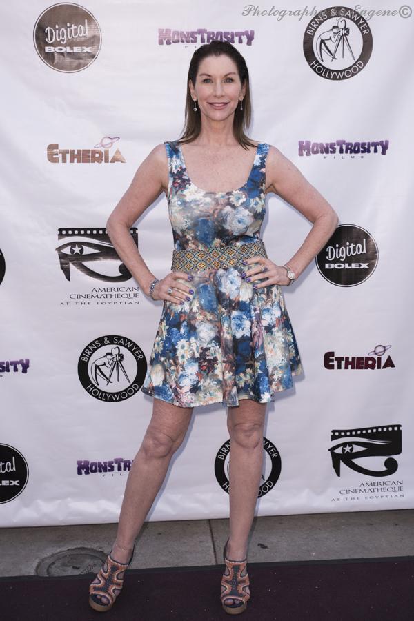 Caroline Williams at Etheria Film Night 2015