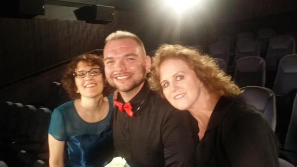 Once Upon a Fan's Zach Van Norman, Diane Reed, and Jane Espenson at Etheria Film Night 2015
