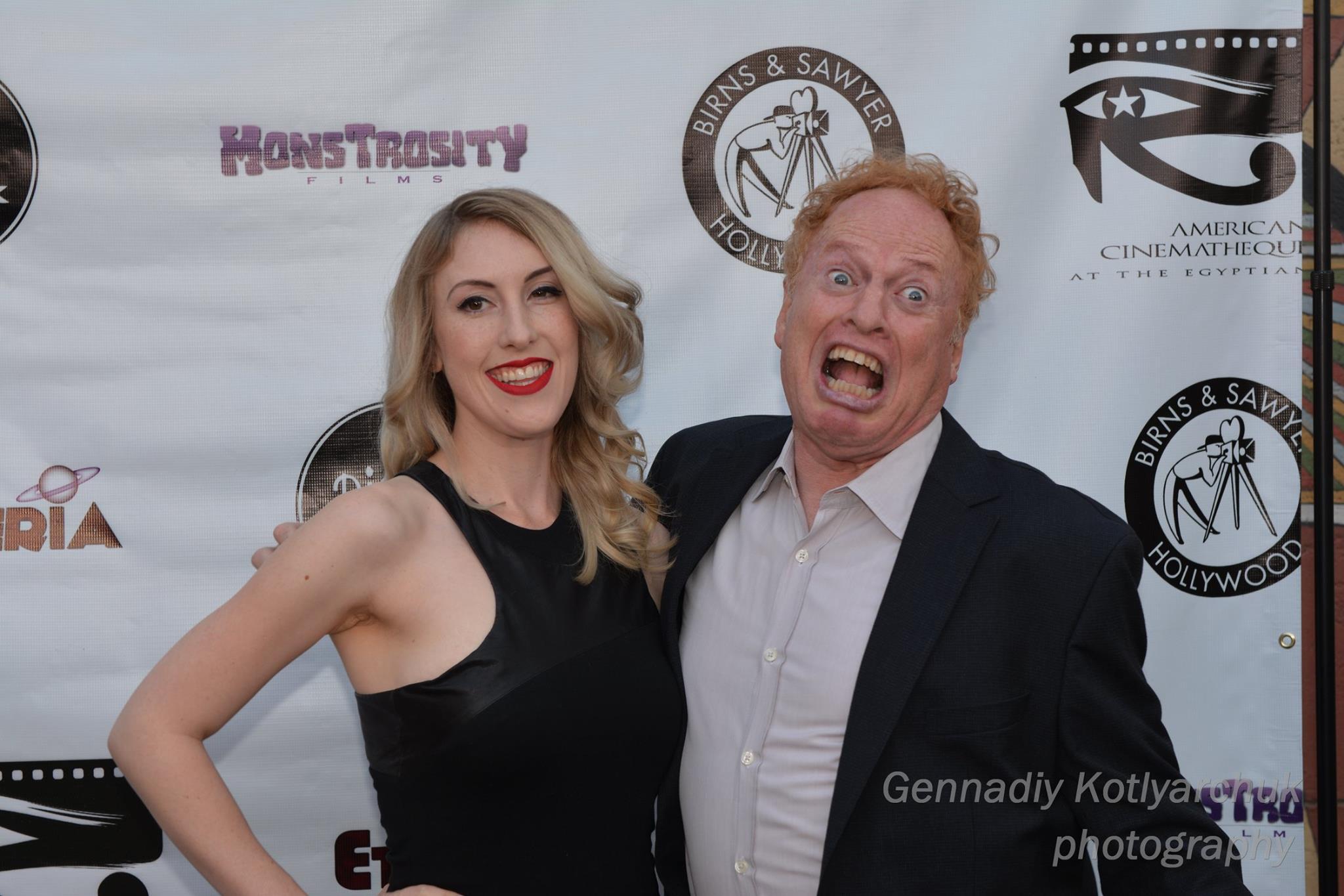 Richard and Anastasia Elfman at Etheria Film Night 2015