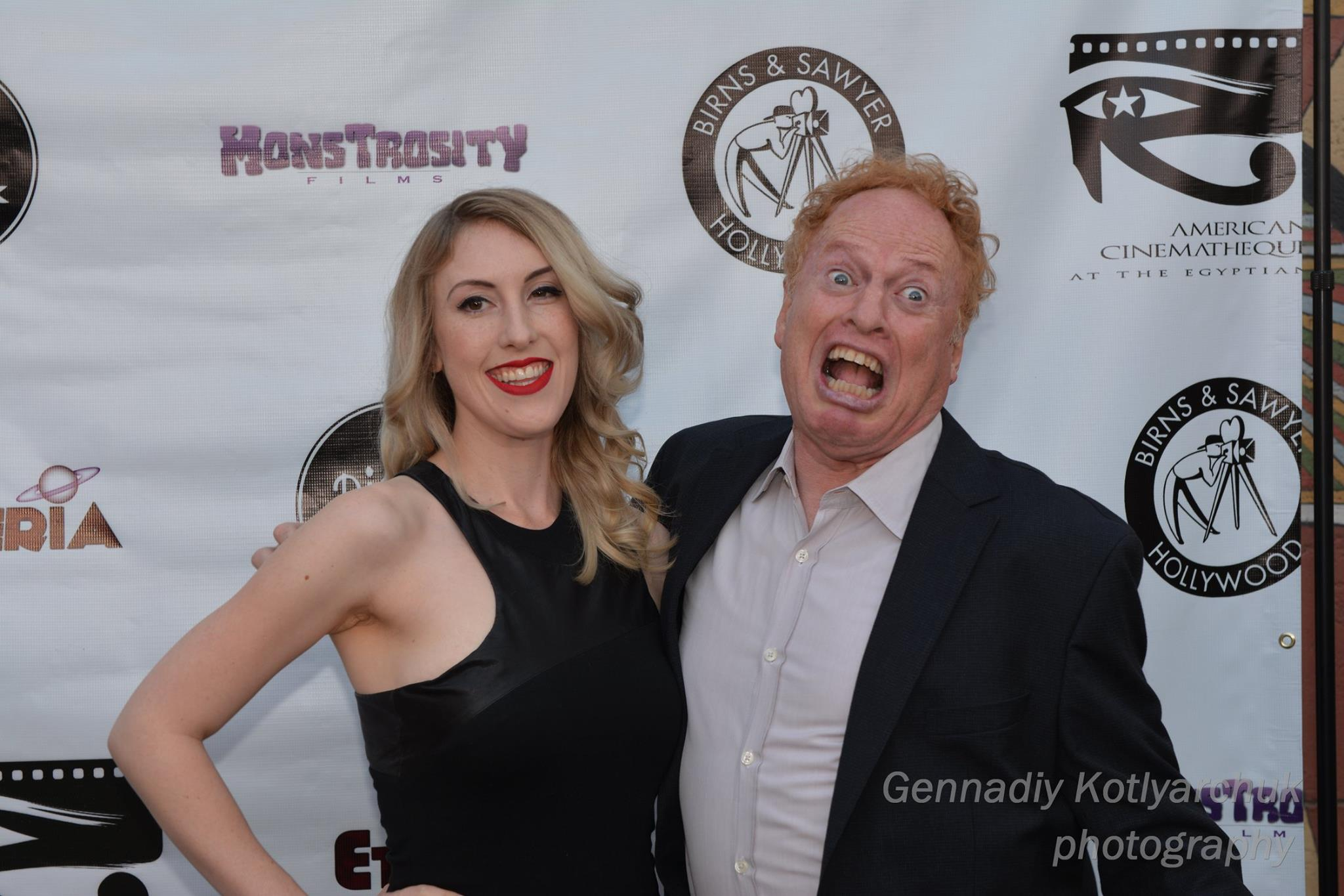 Richard and Anastasia Elfman at Etheria Film Night 2015