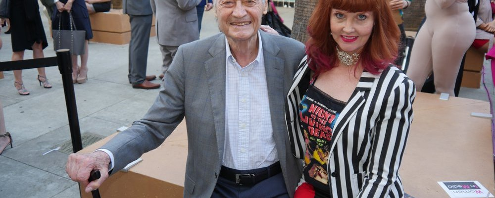 Roger Corman and Staci Layne Wilson at Etheria 2017