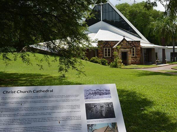 Darwin City Tour historic church in Darwin
