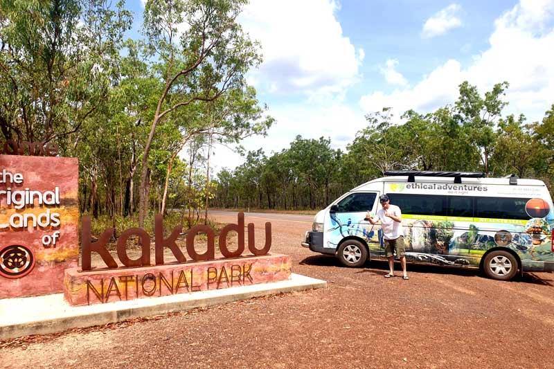 Entry to Kakadu National Park