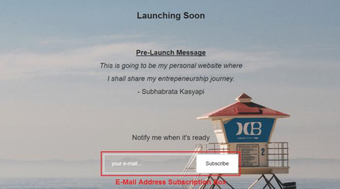 SK Pre-Launch Screenshot