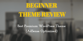 Beginner Theme Review: Best Premium WordPress Theme (AdSense Optimized)