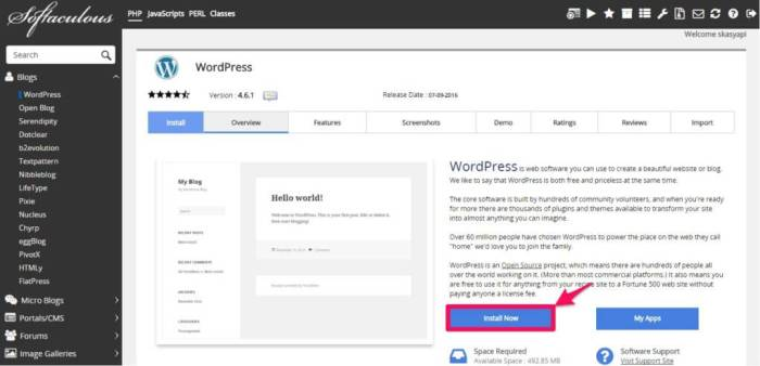WordPress Installer 2