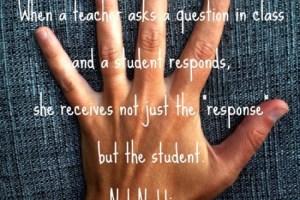 Nel Noddings: What happens when a teacher asks a question?