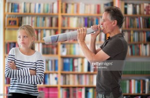 father yelling