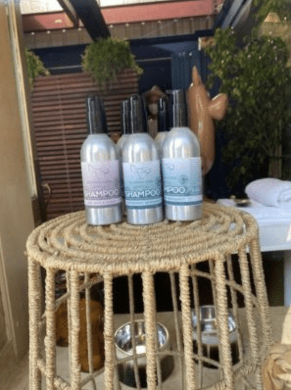 4 versions of All Essential Doggie - Pup Shampoo