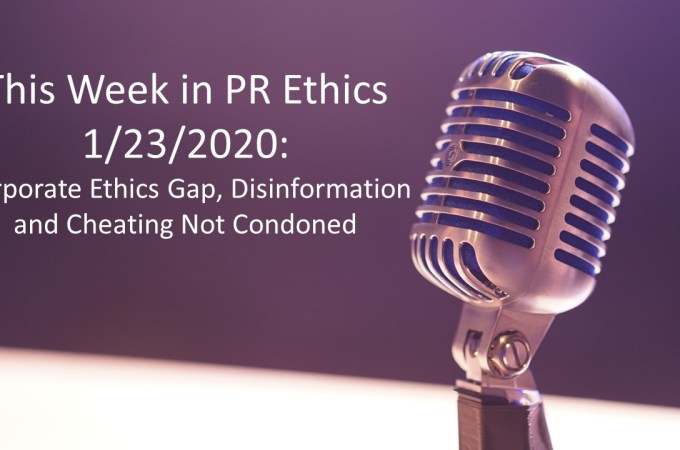 This Week in PR Ethics at EthicalVoices