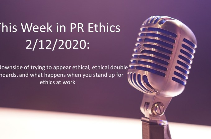 The downside of trying to appear ethical, ethical double standards, and what happens when you stand up for ethics at work