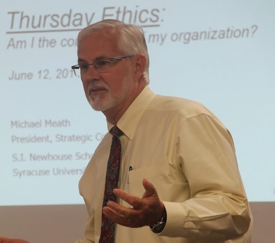 How to Make Sure Codes of Ethics Are Not Worthless: Michael Meath