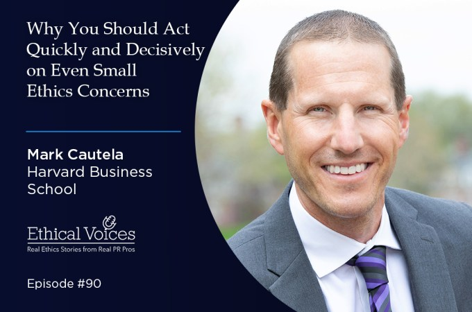 Why You Should Act Quickly and Decisively on Even Small Ethics Concerns – Mark Cautela