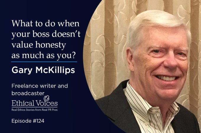 What to do when your boss doesn't value honesty as much as you do – Gary McKillips