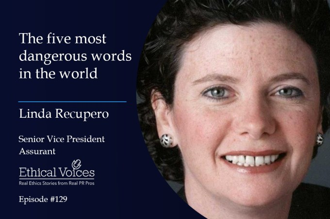 The five most dangerous words in the world – Linda Recupero