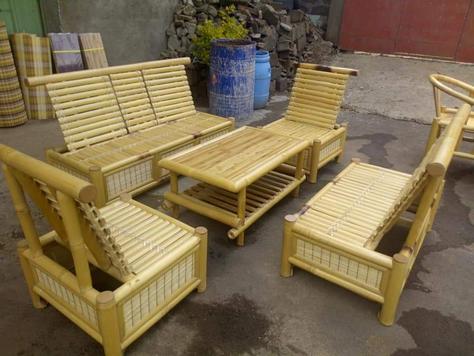 Bamboo sofa set for sale in india. Bamboo Sofa Set - ETHICA ONLINE