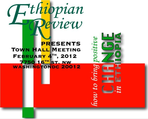 Town hall meeting in Washington DC Ethiopian Review