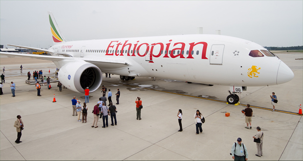 Ethiopian Airlines B787 (Photo: Airliners.net)