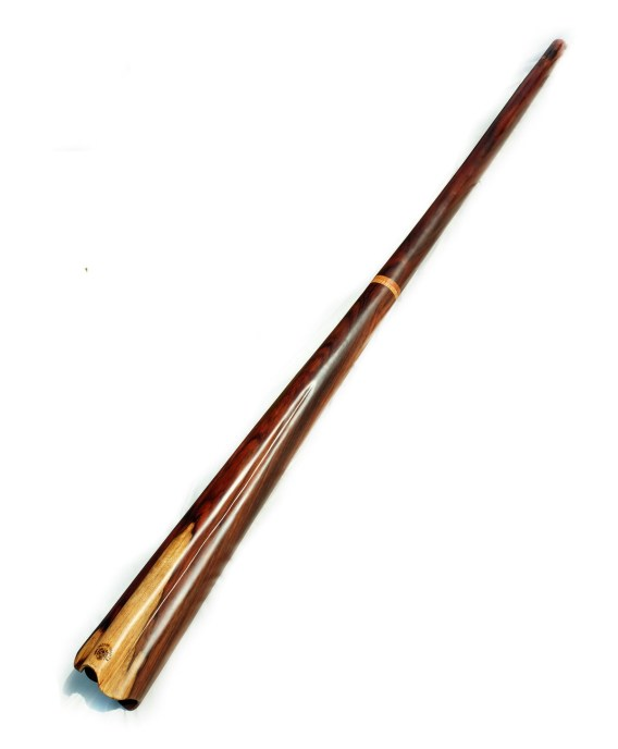 Two-piece didgeridoo from Palisander wood - B