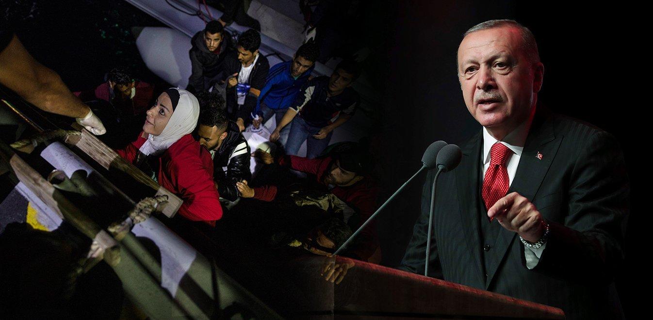 Ερντογάν: Θα στείλουμε 3,6 εκατομμύρια πρόσφυγες στην Ευρώπη, αν χρειαστεί