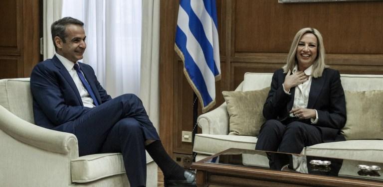 Άρρωστοι Μητσοτάκης και Γεννηματά, αλλά συναντήθηκαν για την ψήφο των αποδήμων