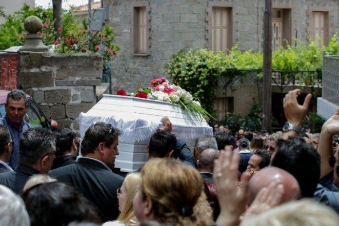 Κηδεία Πάνος Ζάρλας