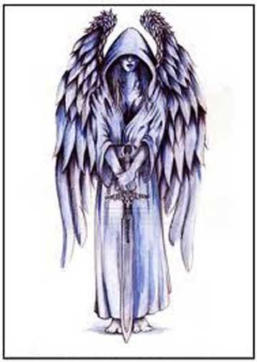 angelo con la spada
