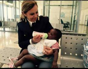 Poliziotta italiana