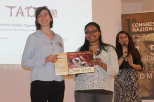 Eshna Gomes e Chiara Mancino, miglior poster