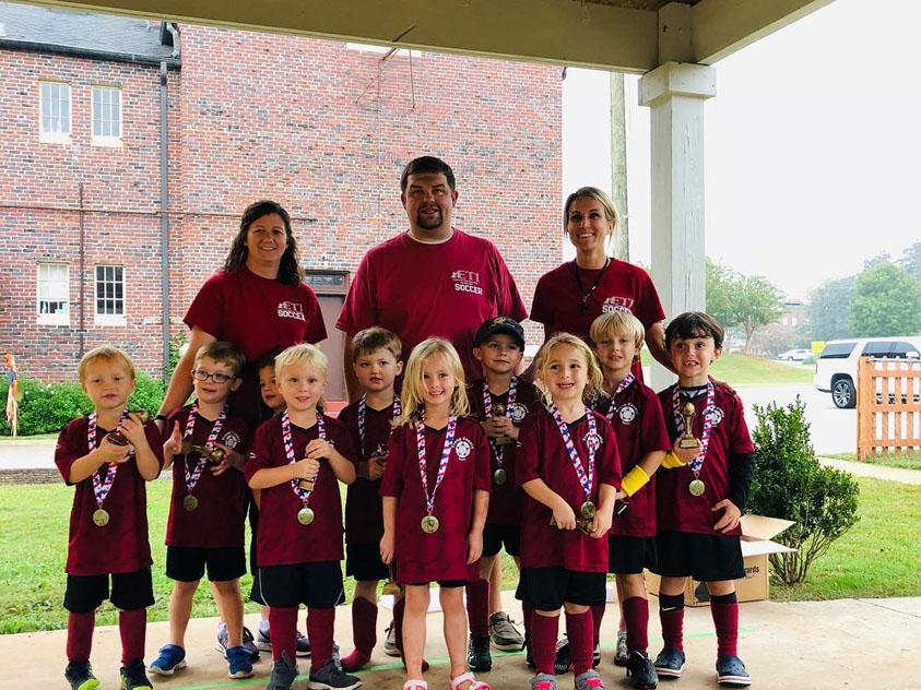 2018 ETI Falcons Soccer Team