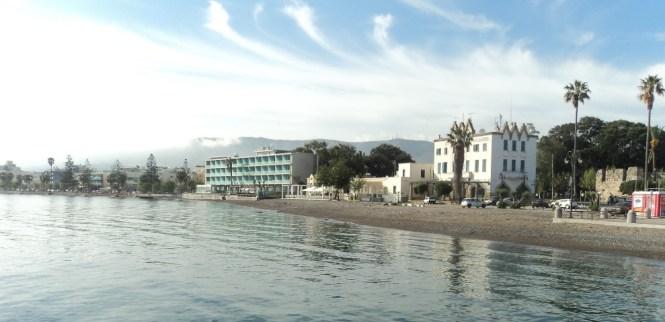Kosas. VII diena. Kos miestas - Psalidi paplūdimys Kos. Graikija
