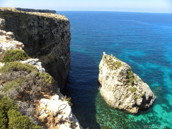 Comino island, Malta (Maltos Komino sala)