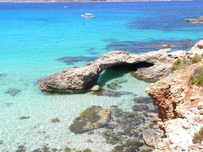 Malta. 3 diena. Comino sala - Blue Lagoon - Bugibba