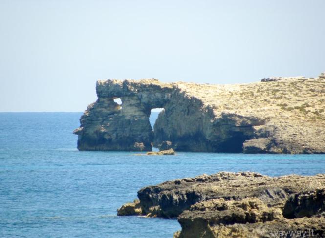 Comino island, Malta (Maltos Komino sala, Šv. Marijos iškyšulys)
