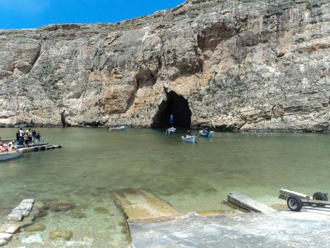 Inland sea. Gozo island
