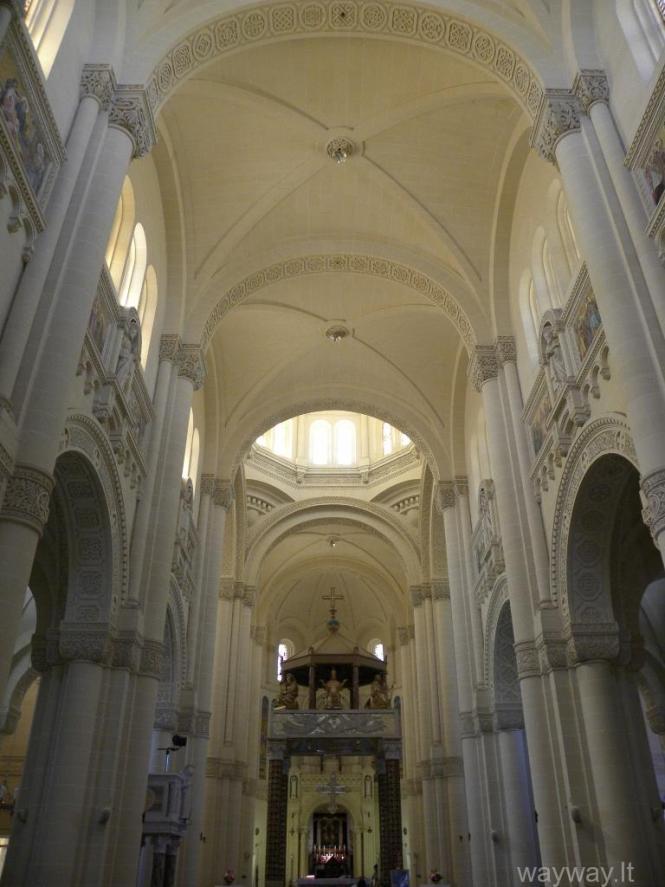Ta'Pinu Basilica. Gozo island