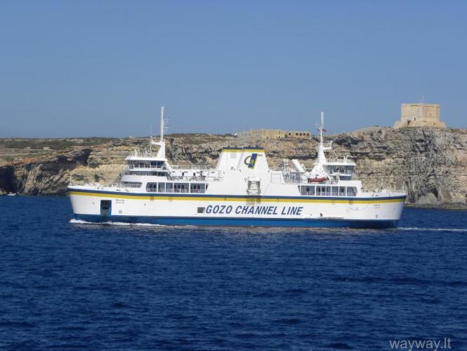 Keltas Gozo - Malta ( Gozo chanel line )