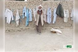 ویترین فقر؛ کاروکاسبی پدر سربازی که 8 سال پیش بهدست طالبان کشته شد