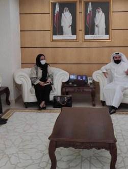 دیدار وزیران تحصیلات عالی افغانستان و قطر