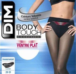 Dim Body Touch Ventre Plat – 20 Deniers – Collants – Femme – Noir – 4