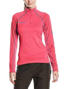 Mammut illiniza zip pull pour femme XL Rose – light carmine