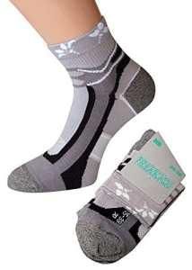 kb-Socken – Protège-pieds – Femme – gris – 35/38