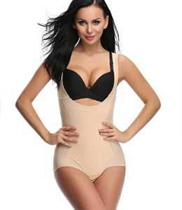 SEXYWG Femme Minceur Shapewear Body Sculptante et Comprimant Sans Couture Bodysuit Lingerie Combinaison gainante Corset Élégantes Collants Body Shaper